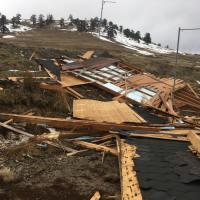 Άμεση αντιμετώπιση και αποκατάσταση των ζημιών στο σαλέ Διστράτου απ' τον Δήμο Κόνιτσας