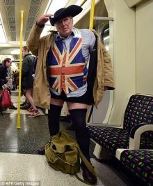 Ημέρα Χωρίς Παντελόνι στο μετρό - Οι «καλύτερες» εμφανίσεις σε όλο τον κόσμο (ΦΩΤΟ) (3)