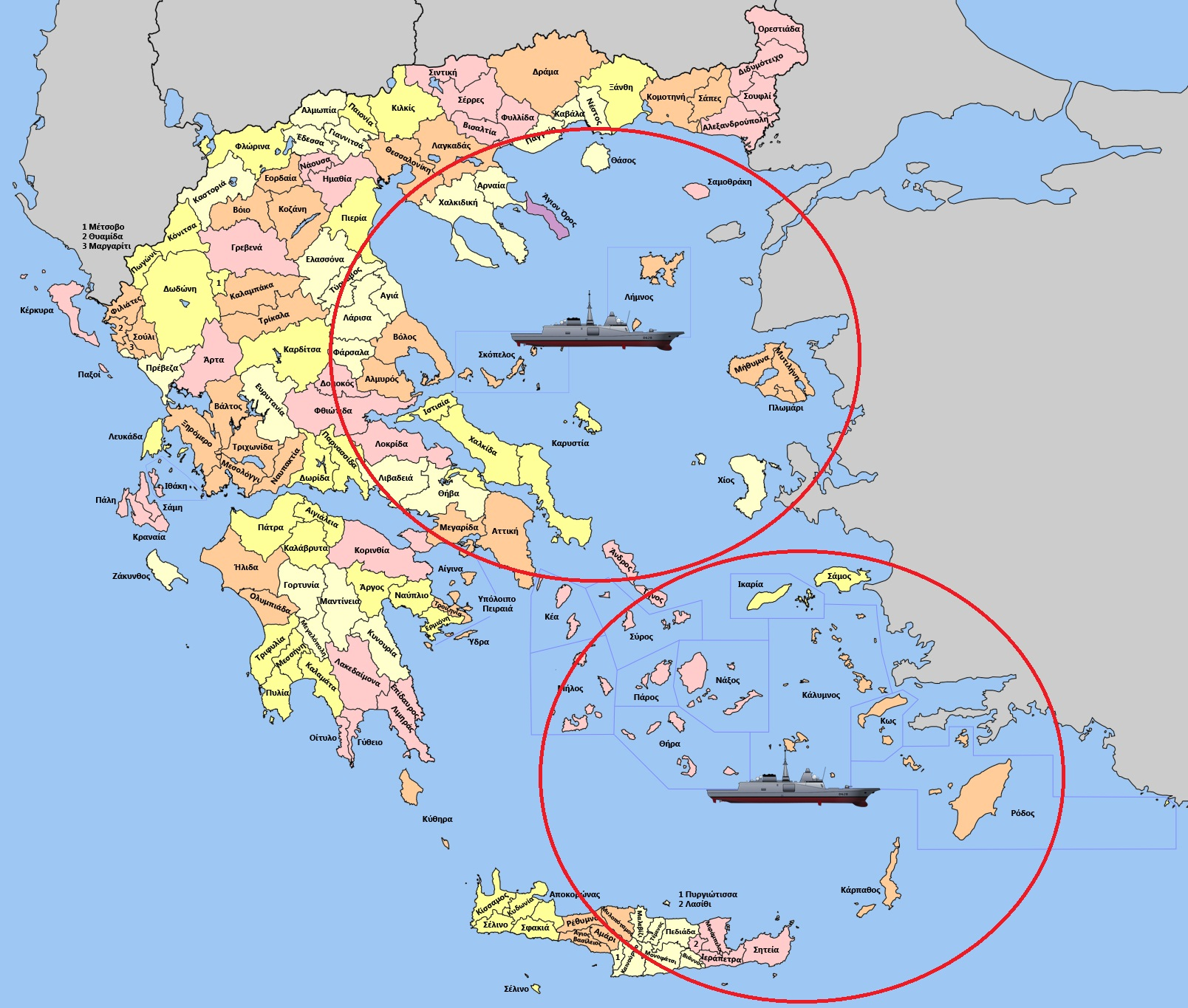"O Πάνος Καμμένος ""κλειδώνει"" το Αιγαίο με δυο αντιαεροπορικές φρεγάτες FREMM/Πυραύλους Cruise-Στις 3 Μαϊου έρχονται οι Γάλλοι [ΒΙΝΤΕΟ]"