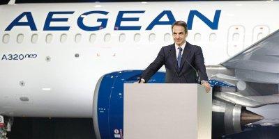Μητσοτάκης: Η Aegean αποτυπώνει καθαρά την αντίληψη της κυβέρνησης για την ανάπτυξη 12/02/2020 Μητσοτάκης: Η Aegean αποτυπώνει καθαρά την αντίληψη της κυβέρνησης για την ανάπτυξη 12/02/2020