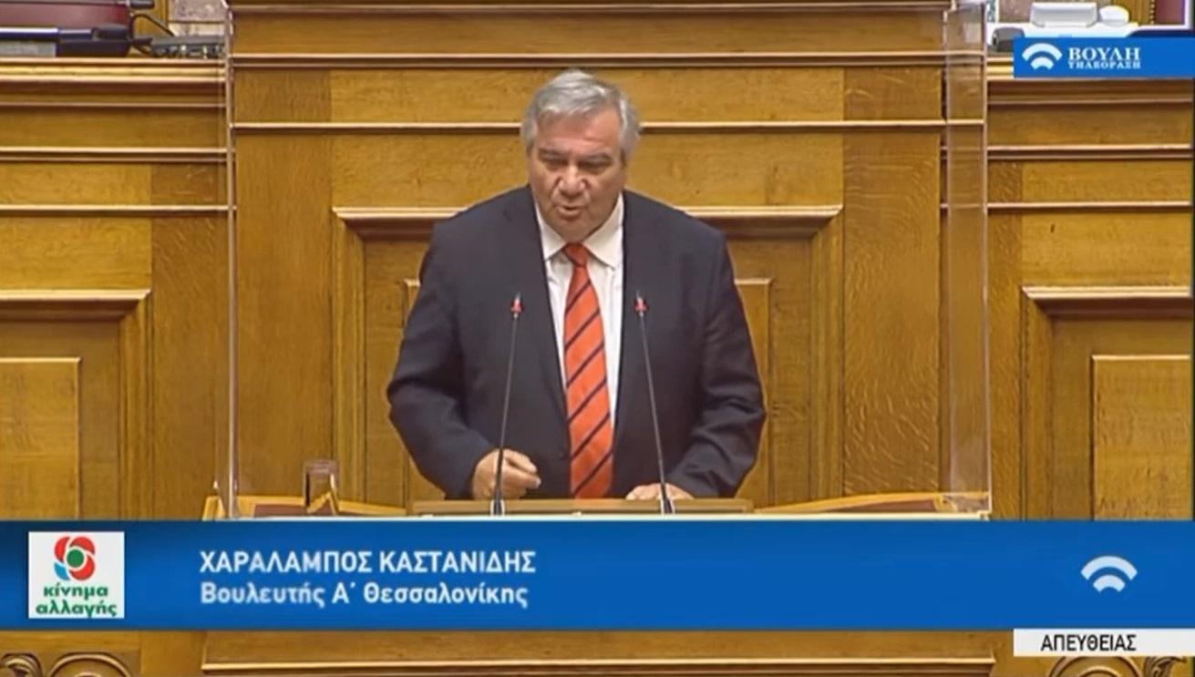 Καστανίδης με skype στην ΚΟ: «Ποτέ δεν συμφώνησα να ψηφίσω»
